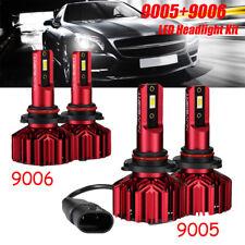 NOVSIGHT 4-sides 9005+9006 LED Headlight Conversion KIT Total 120W 20000LM Hi/Lo
