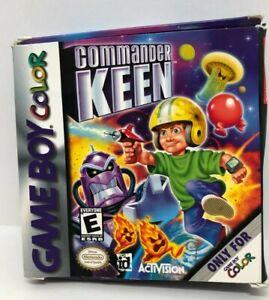 Commander Keen (Nintendo Game Boy Color, 2001) Rare CIB (NTSC)