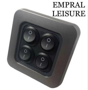 Campervan CBE C-Line Light Switch usb/Appliance Socket For Caravan Motorhome