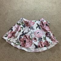 City Studio Womens Skirt Floral A Line Fit Flare Rose Print Size 20W Plus