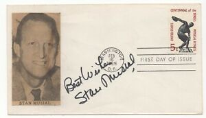Stan Musial - MLB Baseball Hall of Fame - Autographed First Day Cove