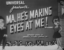 MA, HE'S MAKING EYES AT ME 1940 Tom Brown, Constance Moore