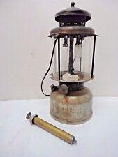 Vintage 1920's Coleman Quick Lite 2 Mantle Kerosene Lantern With Pump