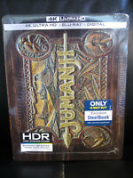 Jumanji 4K UHD + Blu-Ray + Digital HD Steelbook New Sealed Robin Williams