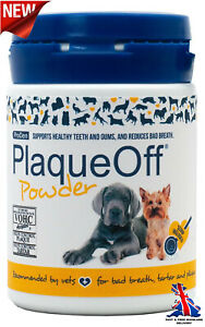 Plaque Off For Cats Dogs Natural Gum Health Pet Hygiene Cleans Removes Tartar