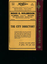 Boone Iowa City Directory 1951 includes Boone Coutny   R L Polk