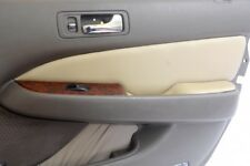Insert Door Panel Leather Synthetic Cover for Acura RL 98-03 Beige