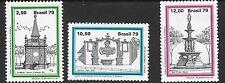 BRAZIL SG1788/90 1979 BRASILIANA 79 ( 4th ISSUE)  MNH