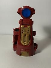 2010 Iron Man Hasbro Red & Gold Gauntlet Armband  Blaster No Missiles. For Parts