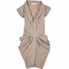 AllSaints All Saints Damen Kleid Dress Gr.38 Elegant Gestreift Mehrfarbig 92178