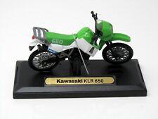 Modell Motorrad  1:18 Kawasaki Klr 650 Grün Motormax 76205