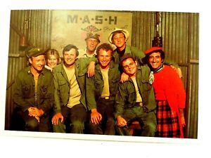 M*A*S*H The Original Cast Shot 1971 Color Fan Mail PostCard FDC First Day Cover