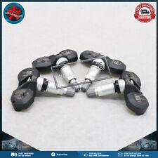 Set of 4 TPMS Tire Pressure Sensor 433MHz For Audi A8 S8 Volkswagen 4D0907275C