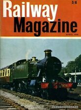 Cooke, B W C (editor) RAILWAY MAGAZINE VOLUME 114, NO 804 : APRIL 1968 1968 Pape