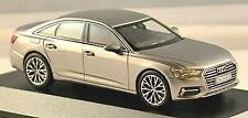 Audi A6 C8 Berlina Tipo 4K 2018-20 Taifungrau Taifun Grigio Metallizzato 1:43