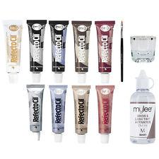 Refectocil Eyelash Tint Eyebrow Tinting Dye Kit Brush Dish Eye Lashes Developer