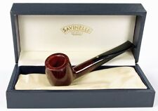 SAVINELLI PUNTO ORO 106 BILLIARD PIPE * NEW in BOX * MIN. 3 YEARS DRYING