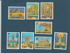Congo république  les 7 merveilles du monde  1978  num:  505/12  ND  **