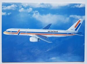 Air Holland Boeing 757-200 Postcard (Airline Issue)