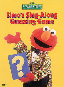 Elmo's Sing-Along Guessing Game DVD Jim Henson(DIR) 2002 AMAZING DVD IN PERFECT