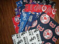 MLB Baseball Cotton Fabric By The 1/4 YARD 9