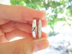 .21 CTW Diamond Wedding Ring 14k White Gold WR47 sep (MTO)