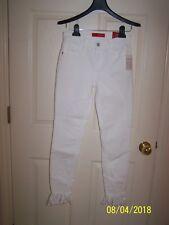 "NWT ""GUESS"" Sophia Curvy Skinny Optic White Wash jeans - size 25"