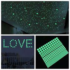 Nachtleuchtende fluoreszierende Leuchtpunkte Sticker Aufkleber Sternenhimmel