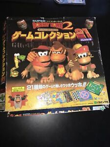 RARE Nintendo Donkey Kong Country 2 Board game Japan Figure King K Rool Diddy