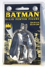 Batman Solid Pewter Figure DC Comic 1989 New in Sealed Package FREE SHIPPING
