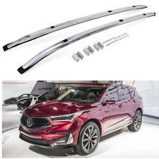 2pcs Fit for Acura RDX 2019-2021 roof rails Roof Rack Side Rail Bars