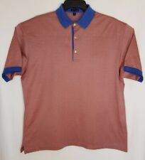 Jeff Rose Men's Polo Shirt Mercerized Cotton Made in Italy Size XL