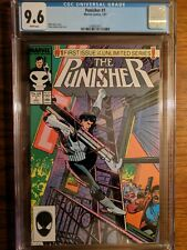 The Punisher #1 (1987)  CGC 9.6 NM+ WHITE pages Unlimited Series Marvel Comics