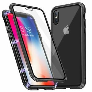 Magnetic case front and back Screen cover for iPhone 6 6s 7 8 XS XR 11 PRO i12