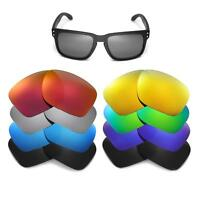 Walleva Replacement Lenses for Oakley Holbrook Sunglasses - Multiple Options