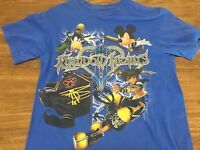 Walt Disney World Kingdom Hearts Small T Shirt Mickey Mouse Goofy