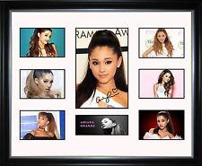 Ariana Grande Limited Edition Framed Memorabilia