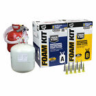 DAP Touch 'N Seal 600 BF Spray Foam Insulation Kit 1.75 FR Closed Cell,Free Ship