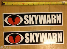 2x medium SKYWARN Magnetic NWS Storm Spotter Sign ARES RACES ecom