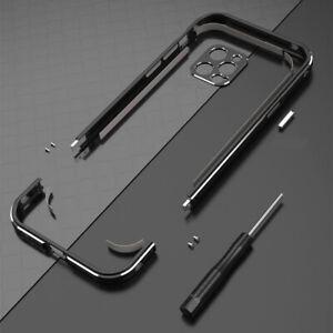 For iPhone13 Pro Max 12 Aluminum metal bumper Frame Cover case+carmera Protector