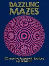 Dazzling Mazes: 50 Inventive Puzzles with Solutions (Dover Childrens Activity B