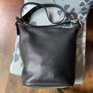 coach glovetanned black 1941 duffle 24 bag 22812 Large Leather