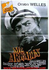 Mr Arkadin Cartel Cine / Movie Póster Orson Welles