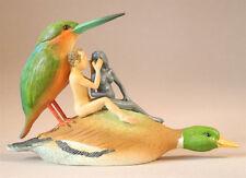 HIERONYMUS BOSCH Duck Seduction Sin Statue Fantasy Art Figure Figurine Sculpture