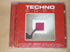 CD / TECHNO 2001 / NEUF SOUS CELLO ++