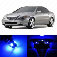 11 x Ultra Blue LED Interior Lights Package For 1999 - 2004 Acura RL US Seller