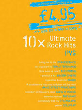10x Ultimate Rock Hits Piano Vocal Guitar Sheet Music Songbook Killers Kinks S63