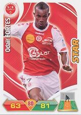 ODAIR FORTES # CAP VERDE STADE REIMS TRADING CARDS ADRENALYN PANINI FOOT 2013