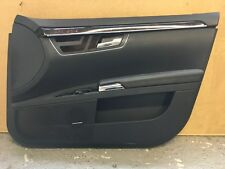 MERCEDES S CLASS W221 DRIVERS SIDE FRONT DOOR PANEL CARD AND DOOR HANDLE