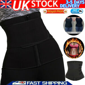 Ladies Men Waist Cinchers Trainer Sweat Sauna Belt Body Shaper Sports Slim Belt